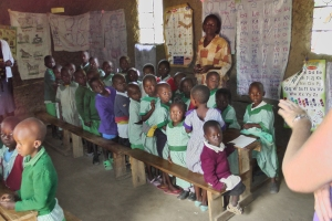preschool at free School with volunteer teachers funded by One Way Ministry